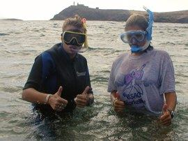 Snorkelling is fun in Gran Canaria