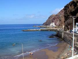 Sardina del Norte is a quiet beach and fishing town