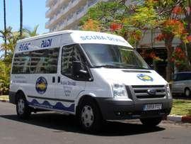 We collect you from your hotel for scuba diving in Playa del Ingles, a short ride will take you to some excellent diving